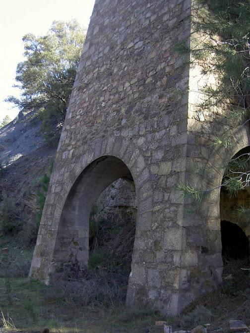 Arcos de la tolva (Fot. J.M. Sanchis, 2010)