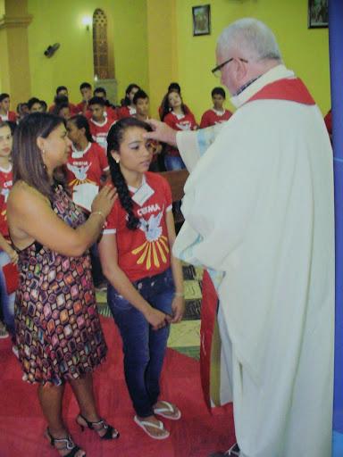 Celebrazione della Cresima ad Alto Parnaiba