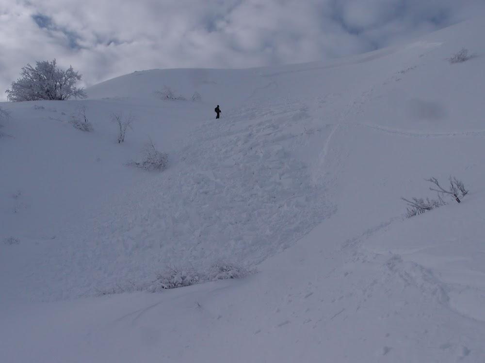 Avalanche Massif Central, secteur Puy de Chabane, Cirque de la Fontaine Salée - Photo 1