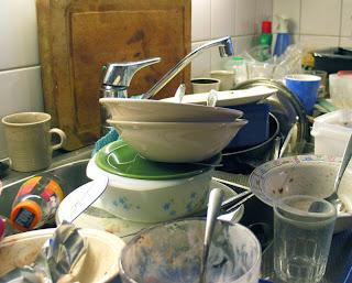 la cuisine et la vaisselle, tu ne t'en occuperas pas