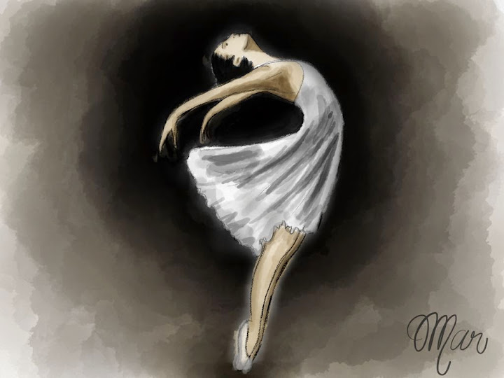 Dancer made with Sketches