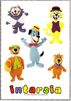BENNY, TOP CAT, HUCKLEBERRY HOUND, YOGI BEAR, BOO-BOO