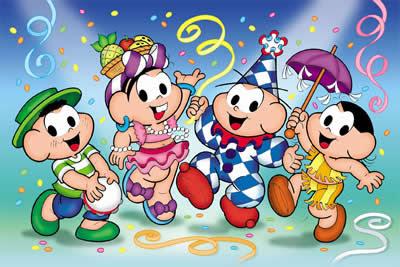 Alegria   Divirta Se   Os Desenhos Da Turma Da M  Nica No Carnaval