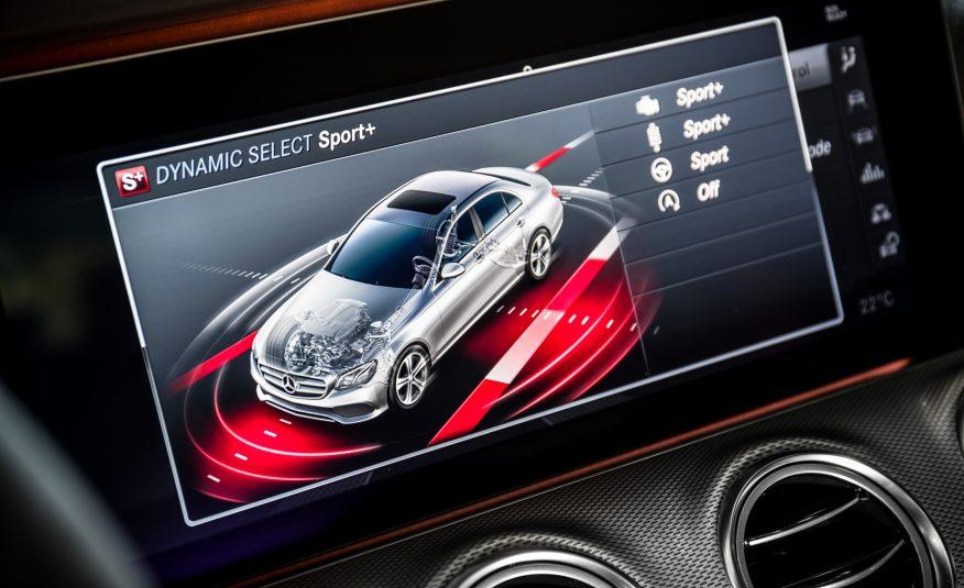Hệ thống màn hình hiển thị cỡ lớn cực thông minh cảu E43 AMG 2017
