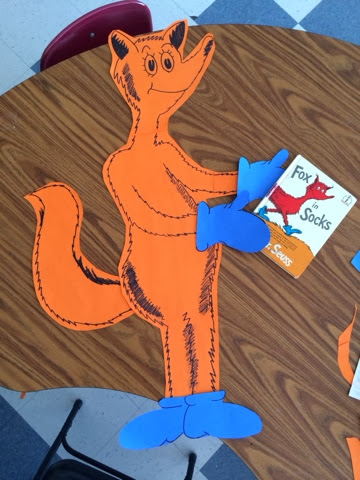graphic relating to Fox in Socks Printable Template known as Kinder Kuties: What Does the Fox Say?