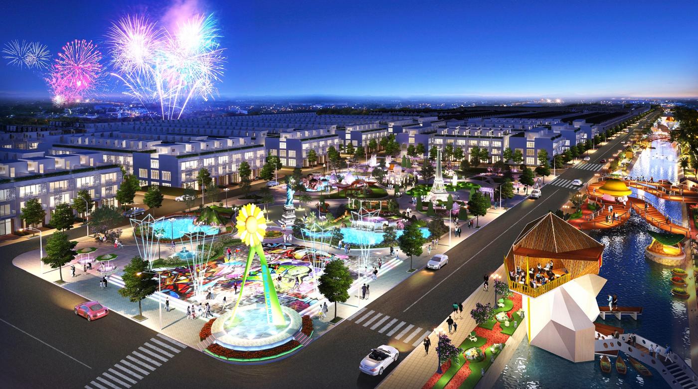 Quảng trường ánh sáng Kim Long Ocean