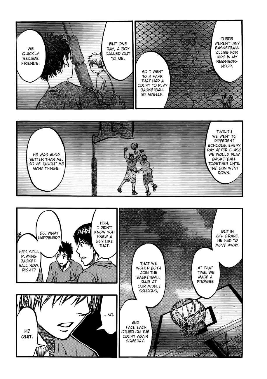 Kuroko no Basket Manga Chapter 204 - Image 04
