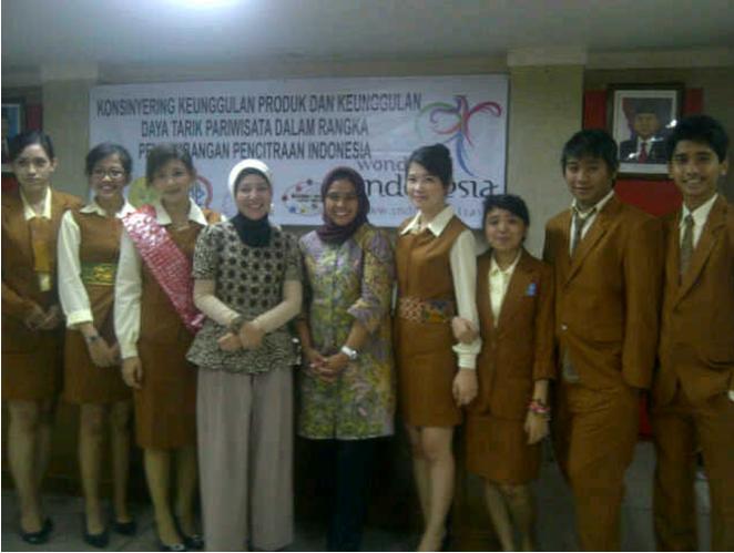 Konsinyering Keunggulan Pariwisata Indonesia Bersama Akpar Pertiwi dan Kementrian Pariwisata dan Ekonomi Kreatif