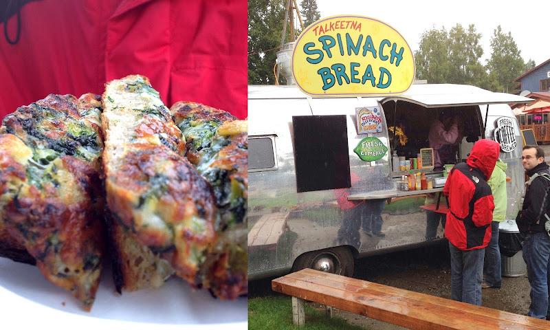 Spinach Bread, Talkeetna, Alaska