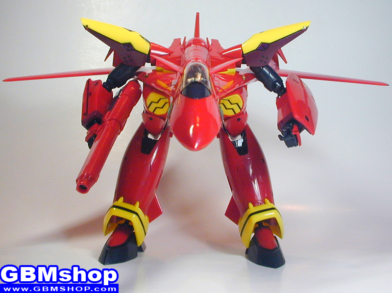Macross 7 Yamato 1/60 VF-19kai VF-19 Kai Excalibur Custom Fire Valkyrie GERWALK Mode