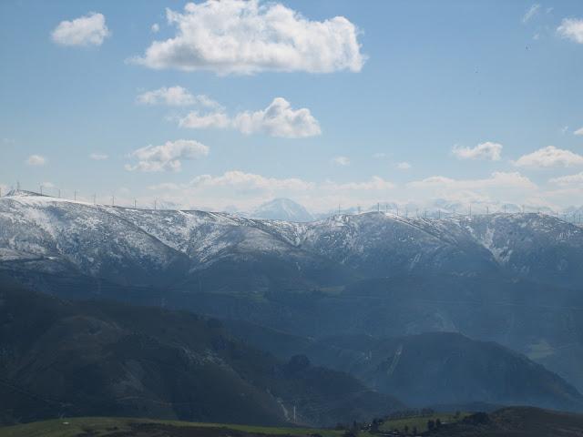 Rutas Montaña Asturias: Vista desde el Carondio
