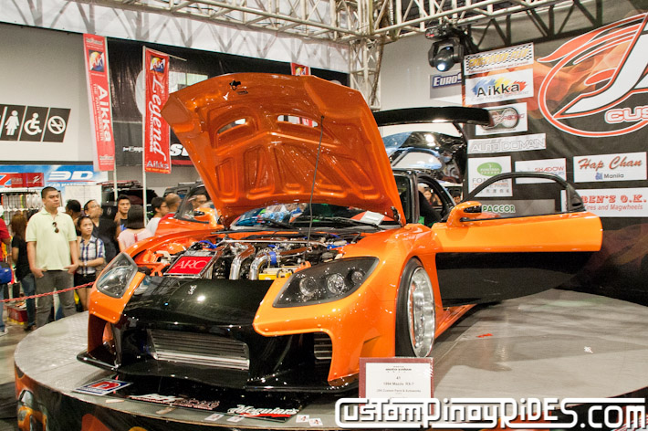 VEILSIDE FORTUNE MAZDA RX-7 TOKYO DRIFT JSK Manila Auto Salon Custom Pinoy Rides Philip Aragones pic10