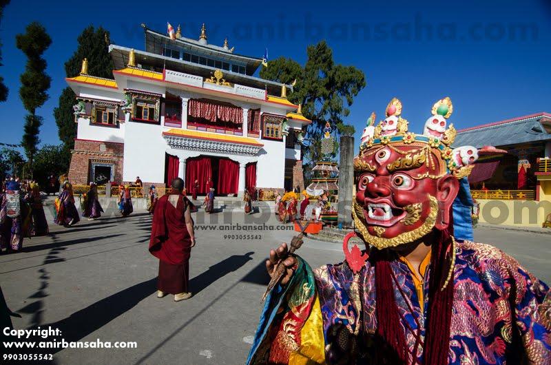 Cham dance, Cham Mahakala, Mahakala dance, Tibetan dance, masked dance
