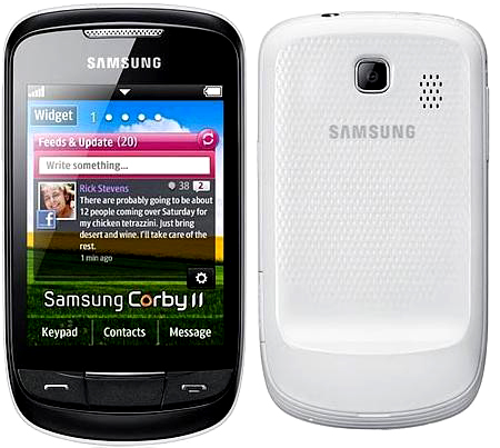 Samsung S3850 Corby Ii Temalar Indir