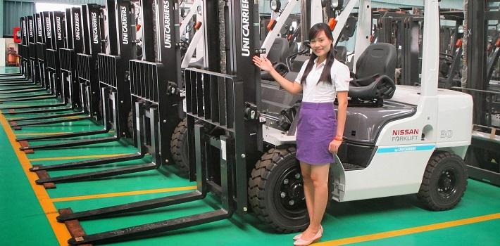 Đại lý xe nâng Unicarriers tại Việt Nam