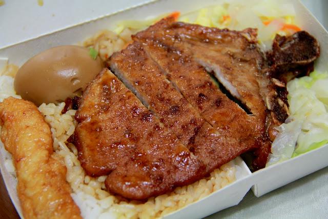 金仙魚丸店.蝦捲飯.排骨飯.控肉飯.雞腿飯.台北美食