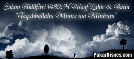 Salam Aidilfitri 1432H / 2011 post image
