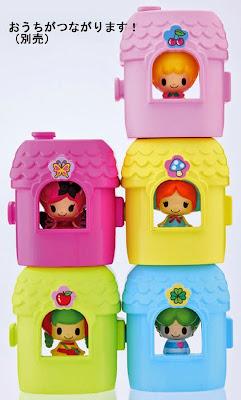 Ngôi nhà mini có thể chứa được búp bê Yotsubakun
