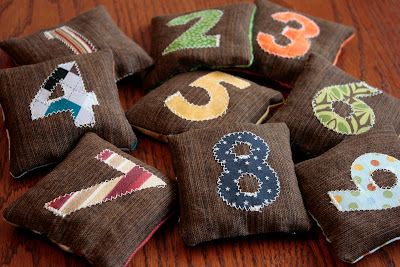 Great Kid's Gift: Number Bean Bags Tutorial!