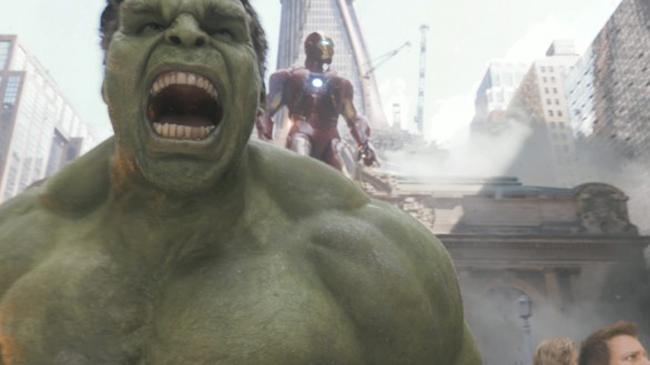 ฮัลค์ (มาร์ค รัฟฟาโล่ ในหนัง The Avengers)