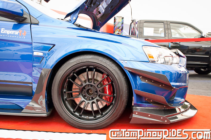 Varis Widebody EVO X by Emperor Motorsports Custom Pinoy Rides Car Photography Manila Philippines pic2