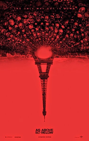 Poster Of As Above So Below (2014) Full Movie Hindi Dubbed Free Download Watch Online At Alldownloads4u.Com
