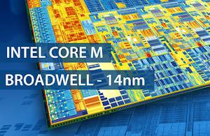Intel 4 CPU Core M siêu tiết kiệm điện, xung từ 800MHz