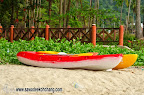 Most of beaches or resorts have canoes for rent