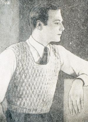 30s gentlemens crochet vest