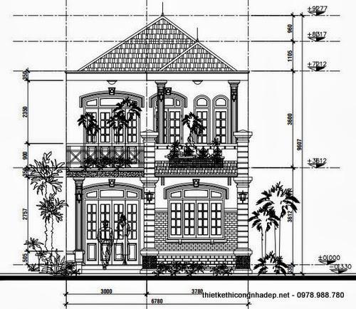 Bản vẽ thiết kế kiến trúc