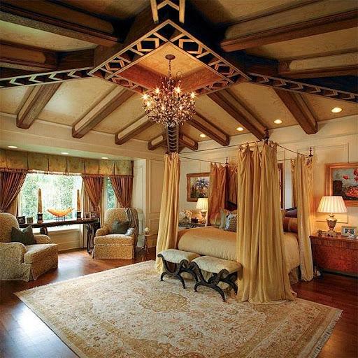Thiết kế phòng ngủ kiểu Âu cho mùa thu đông ấm áp-7