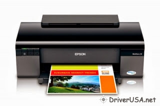 download Epson WorkForce 30 Inkjet printer's driver