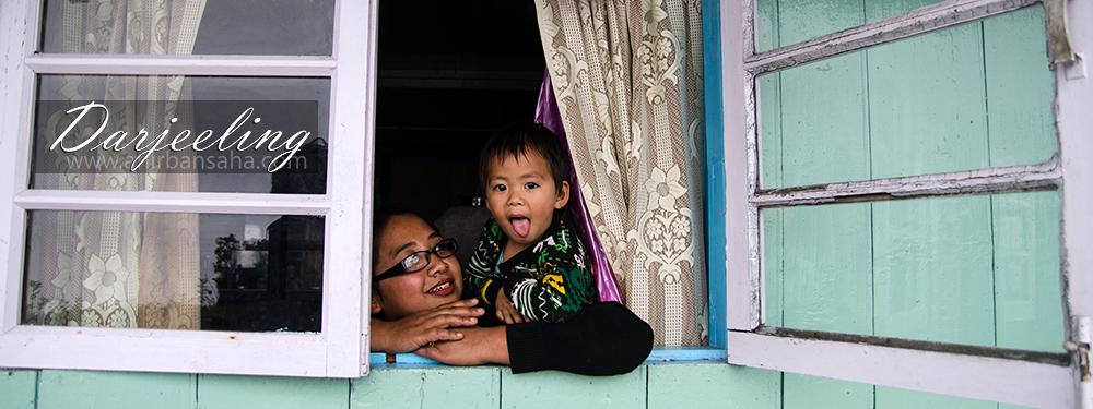 Darjeeling, monsoon, kids