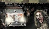 لعبة سيارة قتل الزومبي