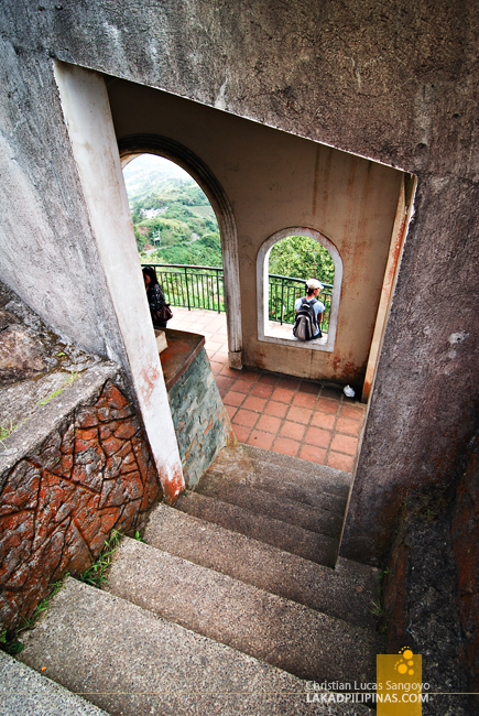 At Tagaytay's People's Park in the Sky