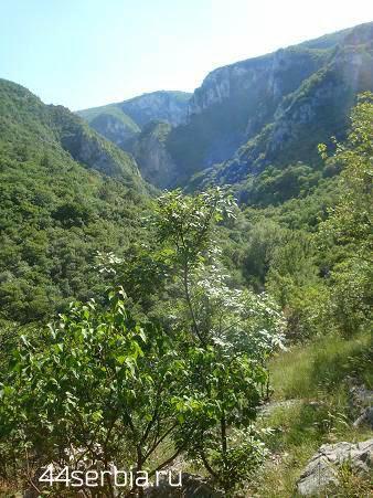 отдых в Сербии: лкрестности Злотской пещеры