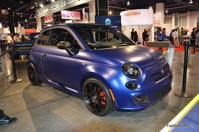 Fiat 500 Titanium Show Car