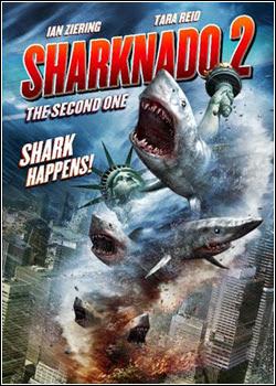 Download Filme Sharknado 2: A Segunda Onda BDRip AVI Dual Áudio + RMVB Dublado