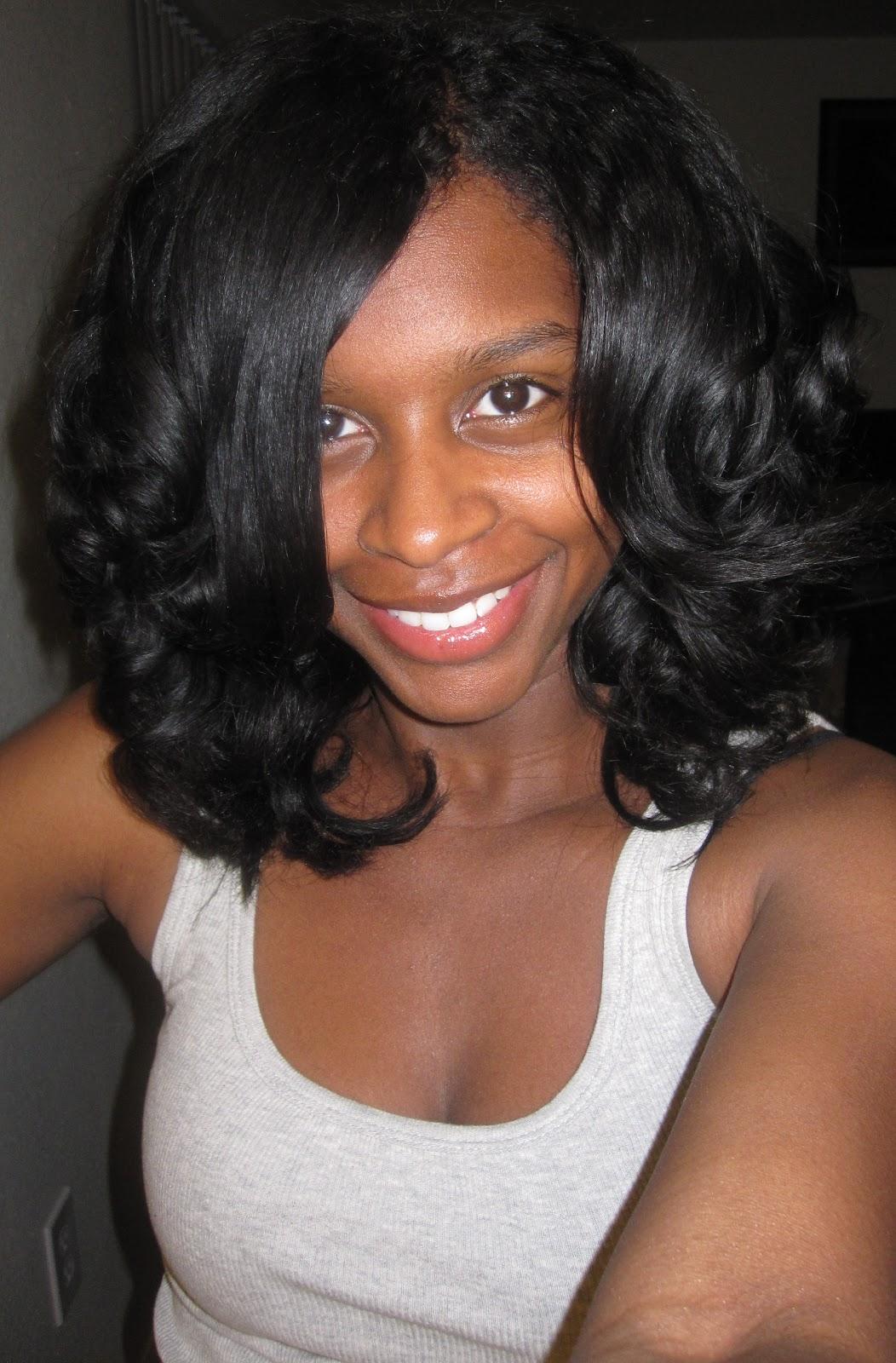 Strange Mahoganycurls39 Roller Set How To Natural Hair Care Curly Nikki Short Hairstyles Gunalazisus