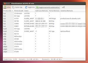Netactview su Ubuntu 13.04 Raring