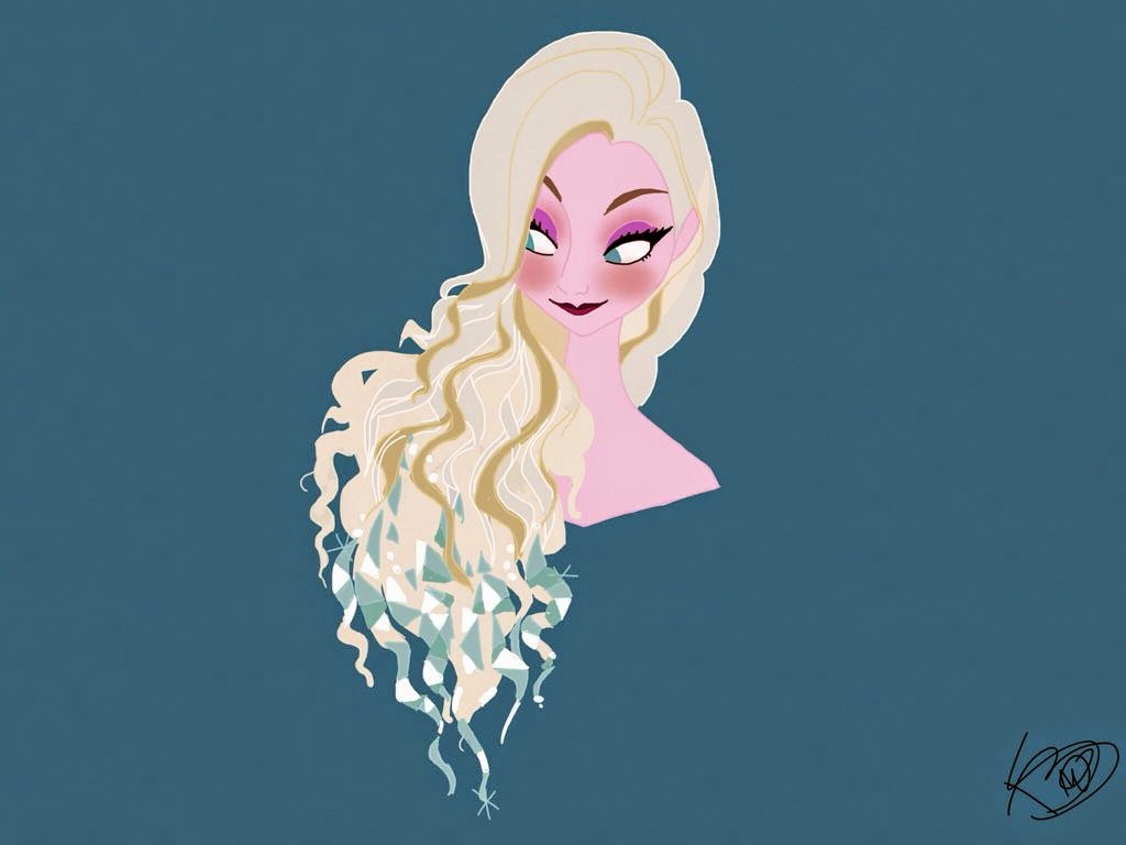 elsa made with Sketches