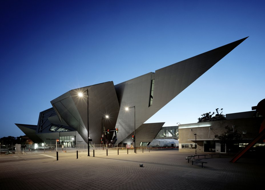 Denver Art Museum design by Daniel Libeskind
