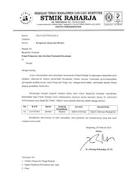 Contoh Surat Pengantar Observasi Ke Sekolah