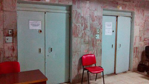 Лифты в киевской больнице