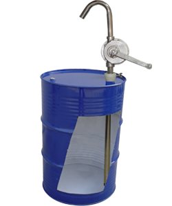 Hand Operated Barrel Pump - Rotary Vane - SS Pumps