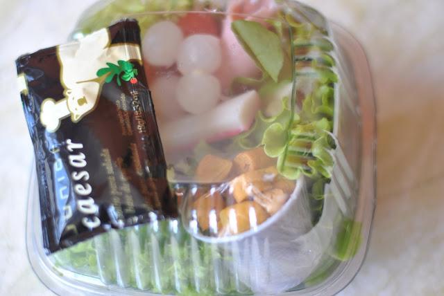 saude com beleza e praticidade tem salada em porção no Mart Plus de BH