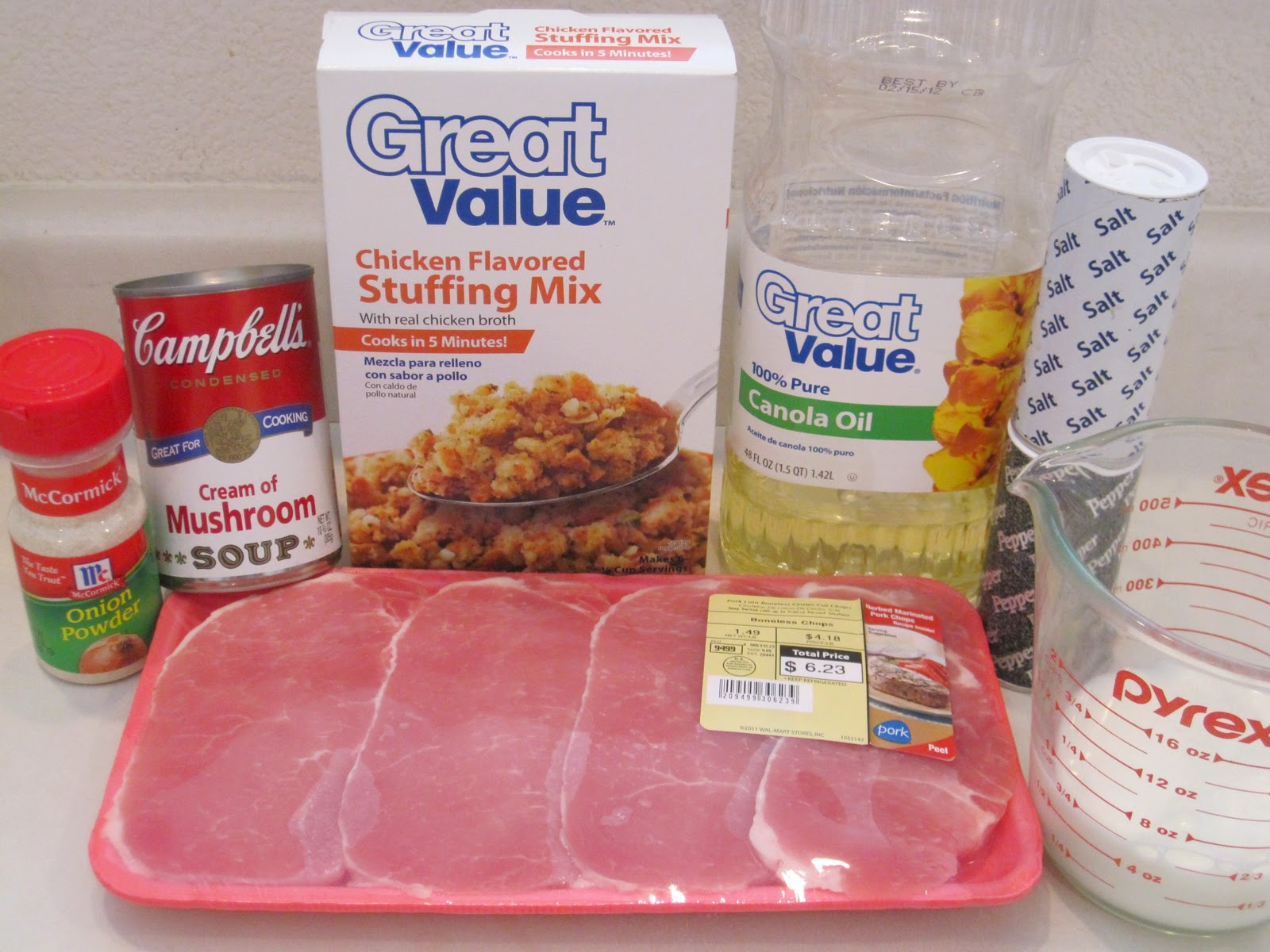 Recipe baked pork chops stuffing