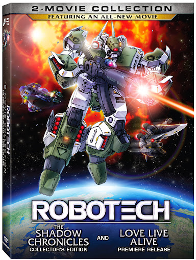 Robotech: 2-Movie Collection - July 23rd