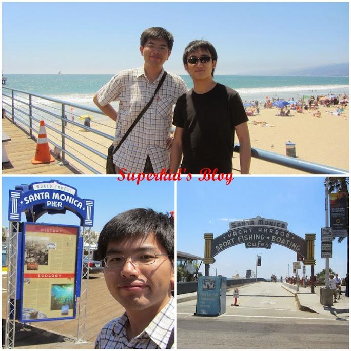 2013年,我們在加州Santa Monica到此一遊!