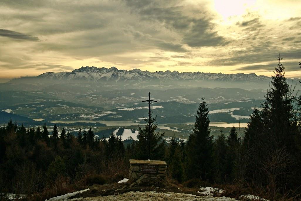 Lubań widok na Tatry